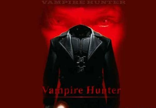 Шаблон для фотошопа - Охотник на вампиров