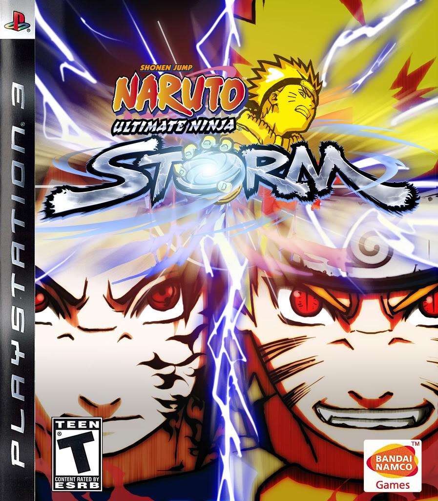 Naruto Ultimate Ninja Storm (2008) PS3
