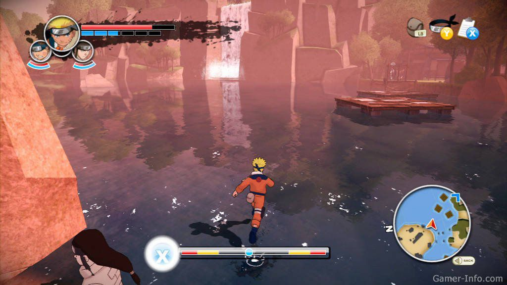 Naruto: The Broken Bond (2008/RUS/XBOX360)