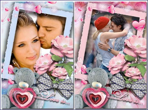����� ��� Photoshop - Love is...