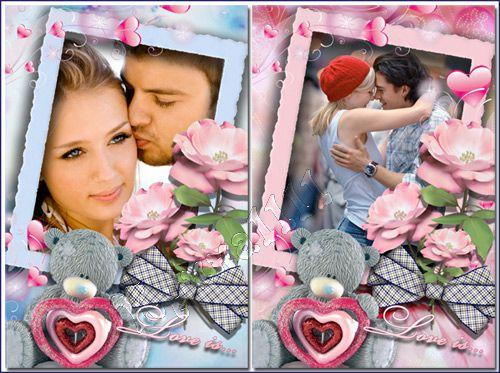 Рамка для Photoshop - Love is...
