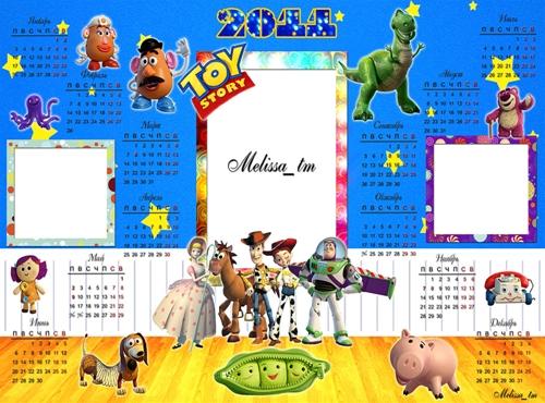 Календарь 2011 - История Игрушек