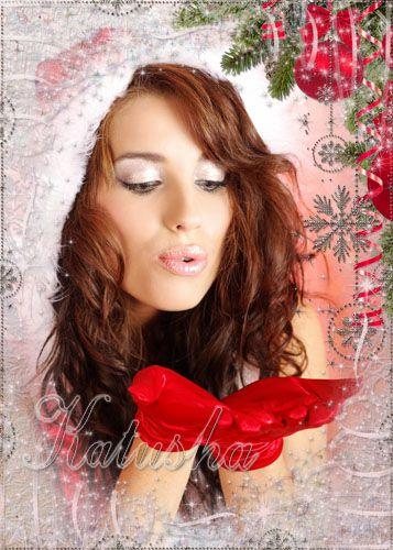 Рамочка для фото - Новогодняя