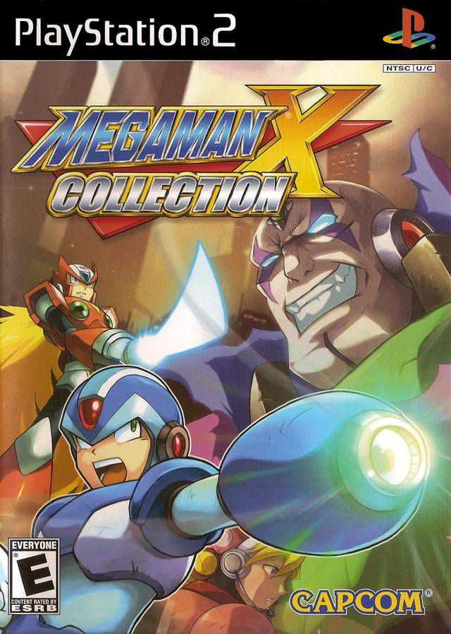 [PS2] Megaman X Collection [ENG/NTSC]