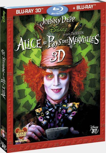 Изображение для Алиса в стране чудес 3Д  / Alice in Wonderland 3D (2010) [HDRip 720p  анаглиф /anaglyph] (кликните для просмотра полного изображения)