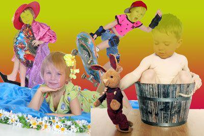 Детские шаблоны для фотошоп-Наши малыши