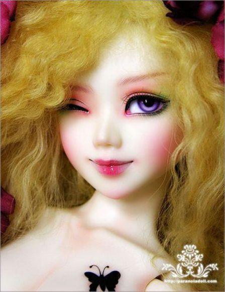 Полиуретановые куклы