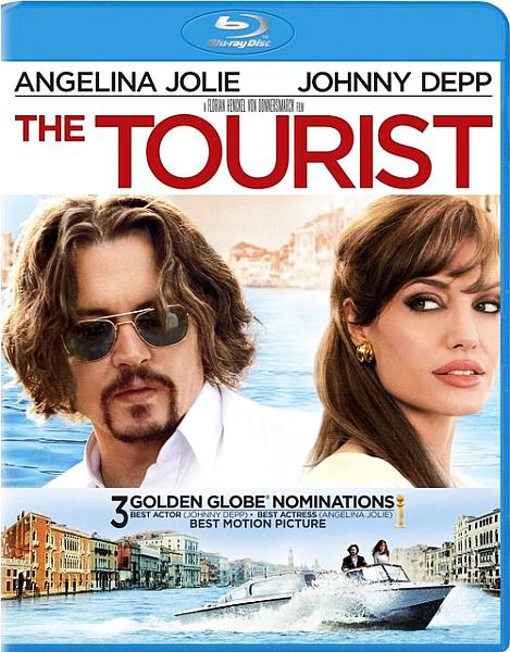 Турист / The Tourist (2010/HDRip/1400Mb)