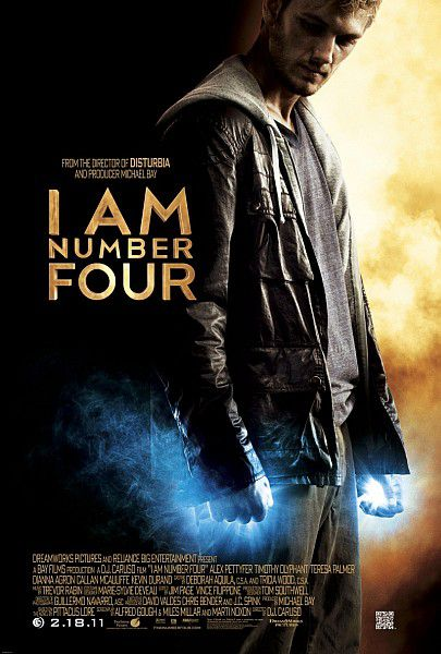 Я – Четвертый / I Am Number Four (2011/DVDRip/1400Mb)