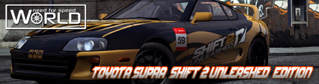 Toyota Supra SHIFT 2 Edition в NFS World