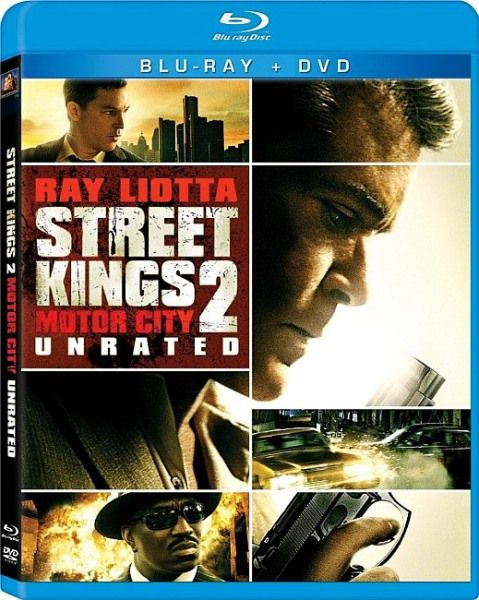 Короли улиц 2 / Street Kings 2: Motor City [Unrated] (2011/DVD5/HDRip/700Mb/1400Mb)