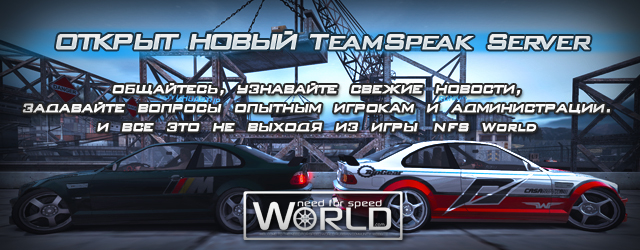 Открыт новый TeamSpeak Server