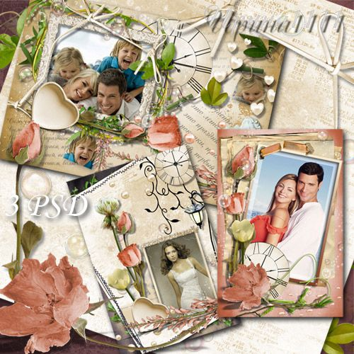 Рамки для Photoshop - Счастливы воспоминания