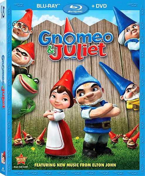 Гномео и Джульетта / Gnomeo & Juliet (2011) BDRip 720p + HDRip + DVD5