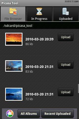 what is picasa on android phone