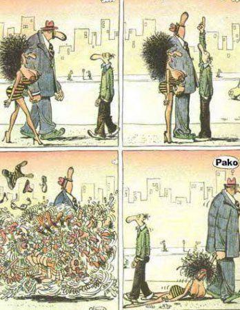 Комиксы-карикатуры.