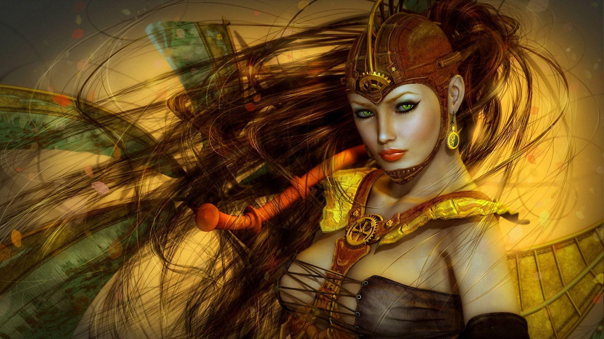 Seductive fantasy girl sex pics
