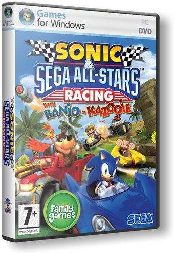 Sonic And Sega All-Stars Racing [Repack by Fenixx] (2010) RUS