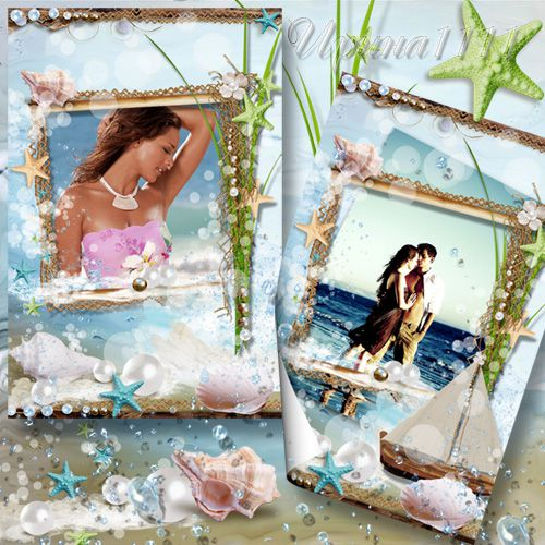 Frame for Photoshop - Sea Breeze