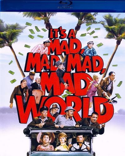 Это безумный, безумный, безумный, безумный мир / It's a Mad Mad Mad Mad World (1963) BDRip 720p