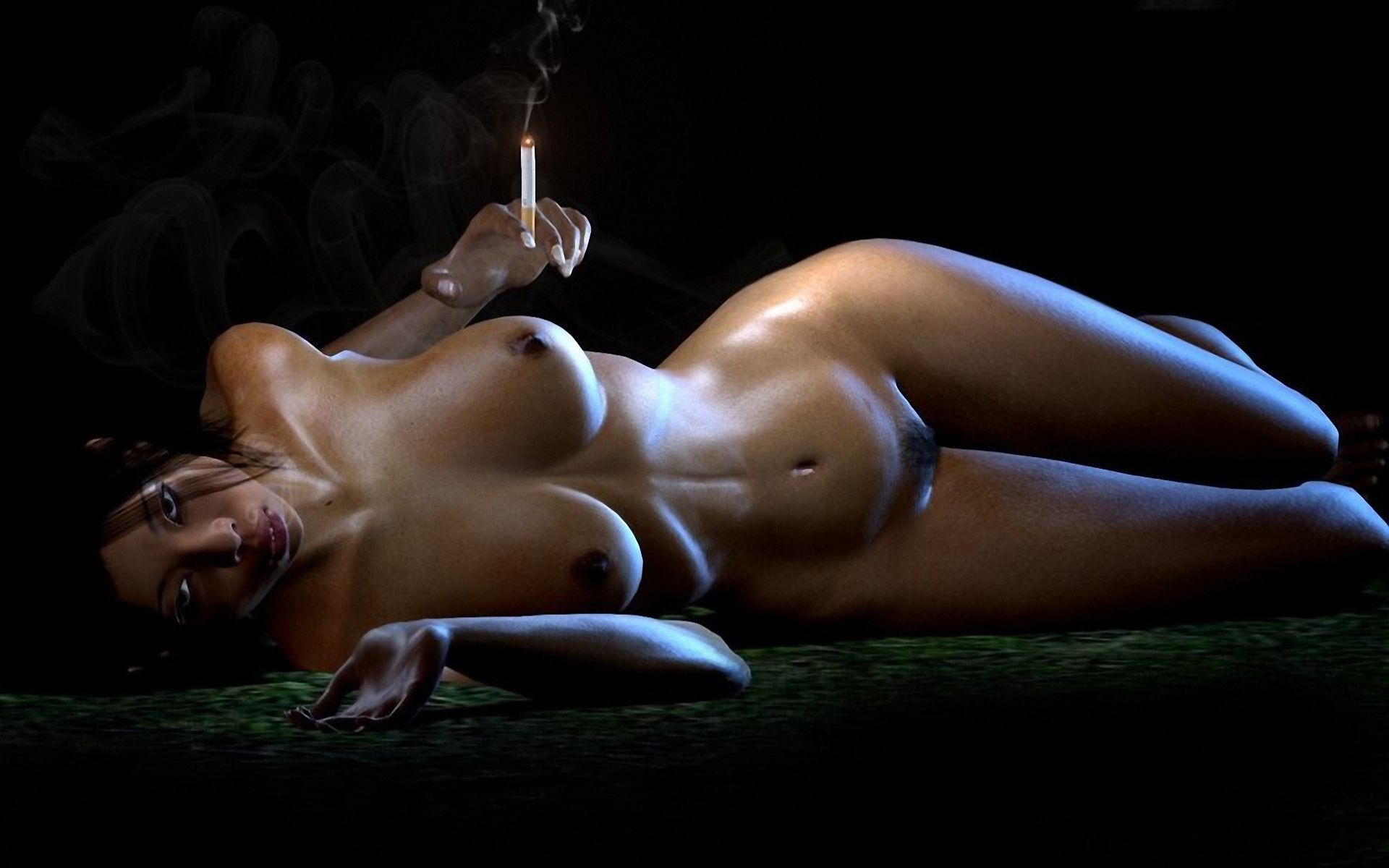 Nude girl 3d and snake xxx scenes