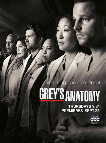 Анатомия страсти (Анатомия Грей) / Grey's Anatomy (7 сезон/2010) HDTVRip/WEB-DLRip