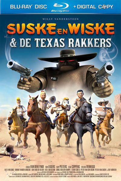Люк и Люси: Техасские рейнджеры / Suske En Wiske: De Texas Rakkers (2009) DVDRip + HDRip
