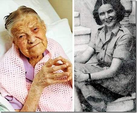 105-летняя Клара Мидмор — самая старая девственница в мире
