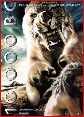 10 000 лет до н.э./10,000 BC DVDRip(2008)