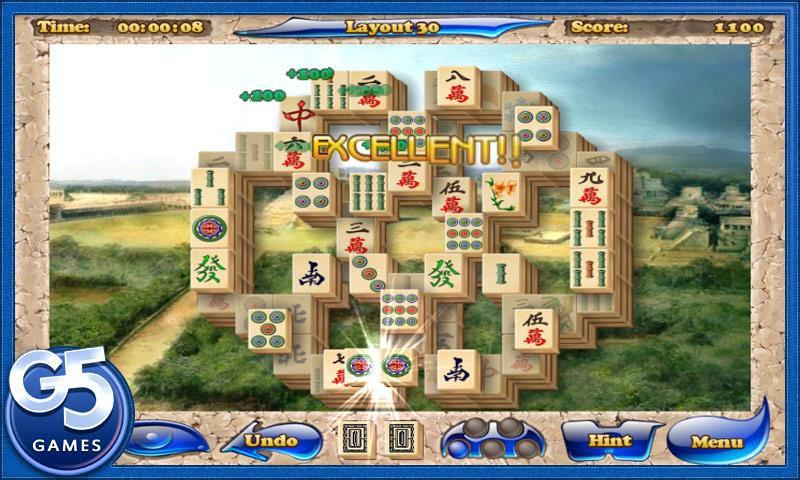 Mahjong Artifacts - головоломка, в которой нужно убирать пары