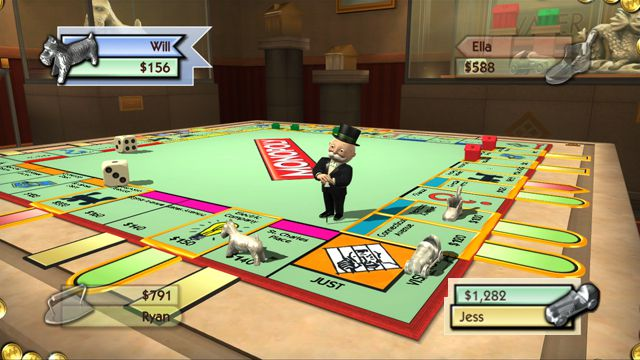 Monopoly Collection (2011) [MULTI5] WII