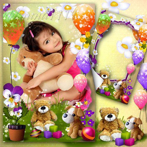 Рамка детская для фото