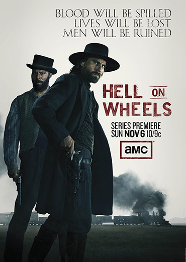 Ад на колёсах / Hell on Wheels (1 сезон / 2011) WEB-DLRip