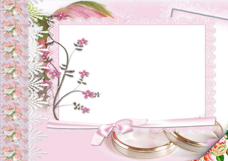 Рамки для оформления свадебного альбома