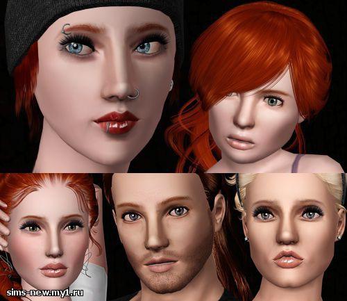 Глаза, линзы, брови для Sims 3 6df847dcdb513b21f40d8bfa33721c52