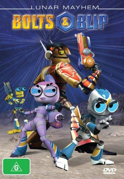 Роботы Болт и Блип / Bolts & Blip (1 сезон) (2010) DVD5