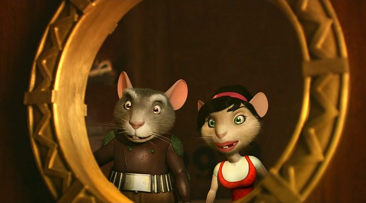 Приключения мышонка Переса 2 / El ratón Pérez (The Hairy Tooth Fairy) 2 (2008) DVDRip