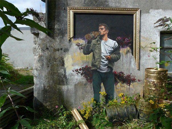 Лучшие работ уличного Art'a за 2011