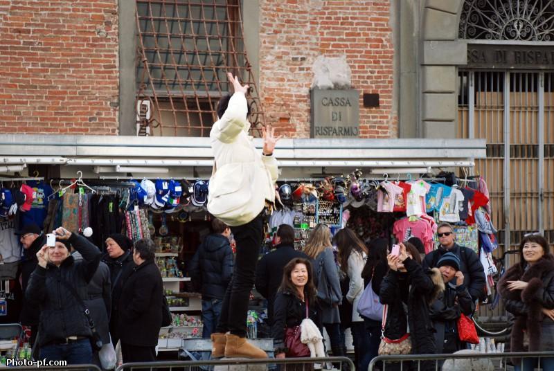 Январский день в Пизе.