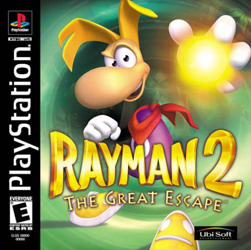 Rayman 2: The Great Escape(1999/RUS/PSone)