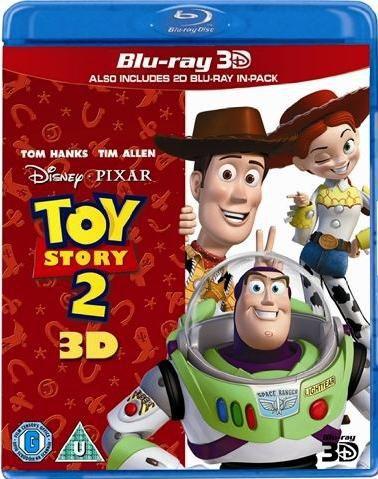 История игрушек 2 / Toy Story 2 (Джон Лассетер, Эш Браннон, Ли Анкрич) [1999, мультфильм, фэнтези, комедия, приключения, семейный, BD