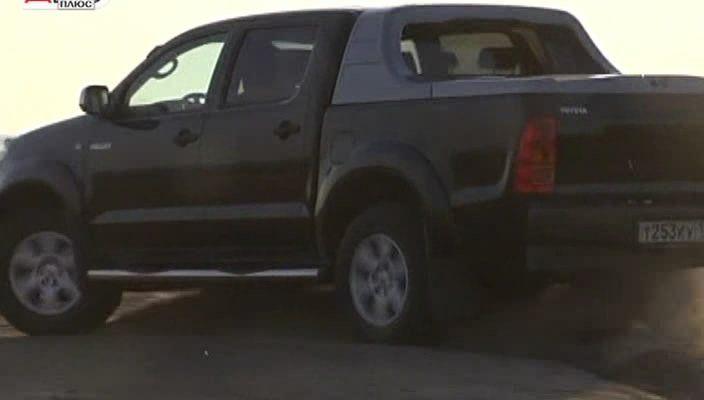 Toyota Hilux Тест драйв