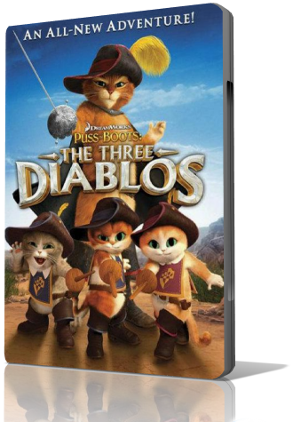 ��� � �������: ��� �������� / Puss in Boots: The Three Diablos (2011/HDRip)