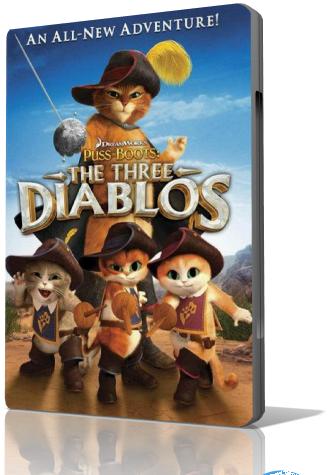 Кот в сапогах: Три Чертенка / Puss in Boots: The Three Diablos (2011/HDRip)
