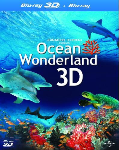 Чудеса океана в 3Д / Ocean Wonderland 3D (Жан-Жак Мантелло / Jean-Jacques Mantello) [2003, Документальный, Видовой, BDrip-AVC] Half OverUnder / Вертикальная анаморфная стереопара