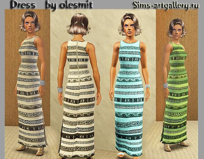 Длинное платье от olesmit91