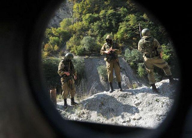 Полицейский спецназ на Кавказе