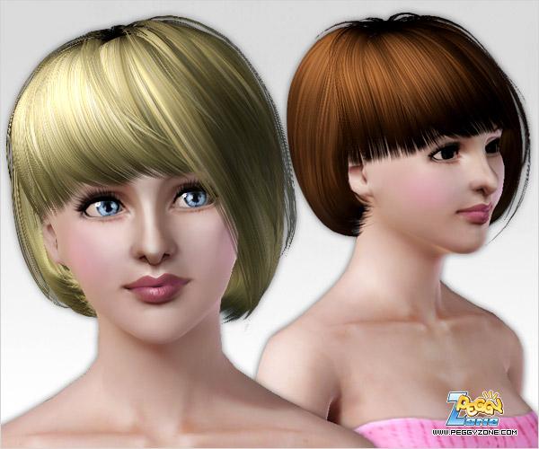 Короткие женские причёски в симс 4