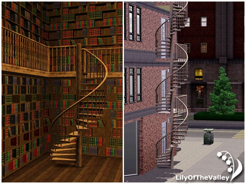 Grand staircases in the sims 3 - bing images.