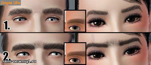 Глаза, линзы, брови для Sims 3 8c6b6f69819e9e874a8ff6c65d57f322
